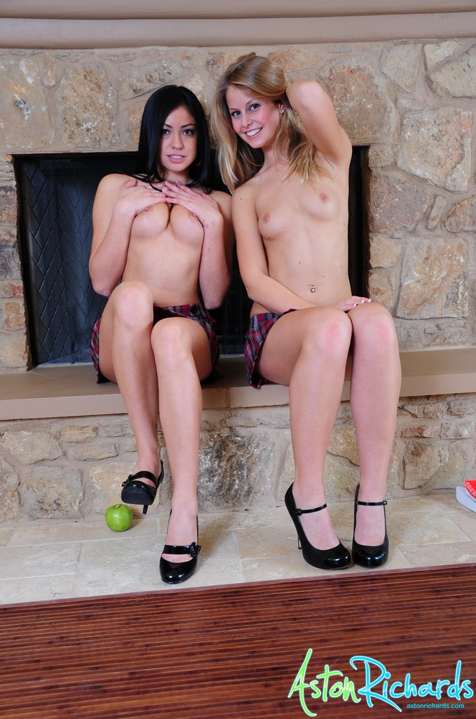 Sexy blonde showing their private parts in mc donald - 2 part 6