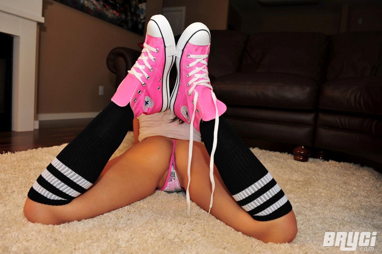 Converse bryci pink