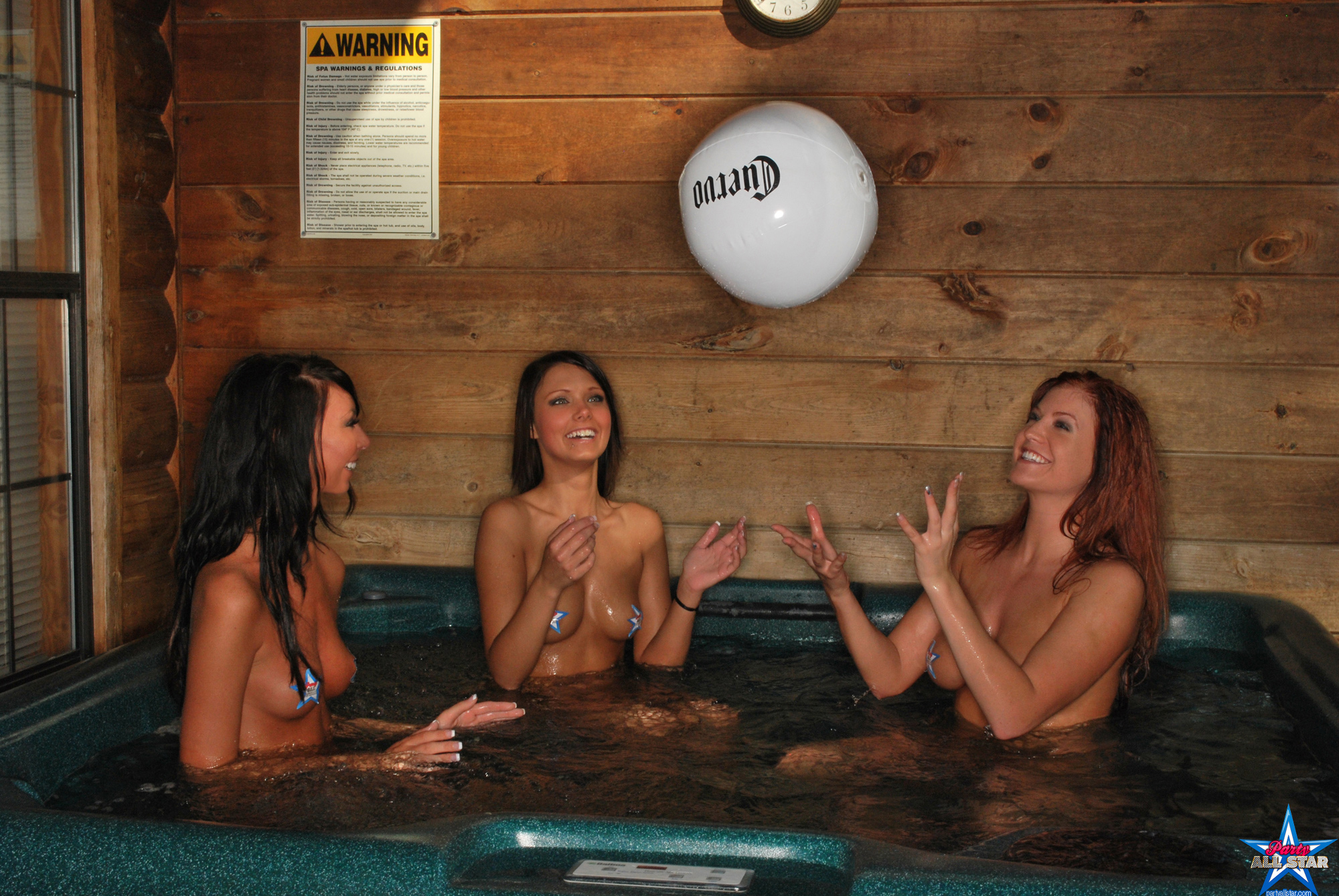 Teen girls in hot tubs for explanation