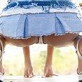 Thai girl Lily Koh upskirt and bikini pics - image