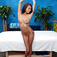 Janice Griffith massage room sex - image