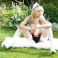 Lolly Hardcore sexy sailor pussy outside - image