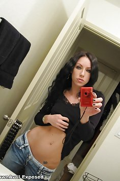 Dawn Avril self shot pics