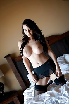 Bryci in some black lingerie and stockings