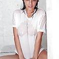 Nikki Sims wet t shirt babe - image