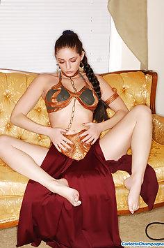 Carlotta Champagne Slave Leia