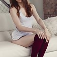 Caitlin McSwain knee high socks - image
