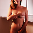 Lex Nai nude and hiding her goods - image