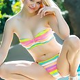 Dolly Little teen rainbow bikini - image